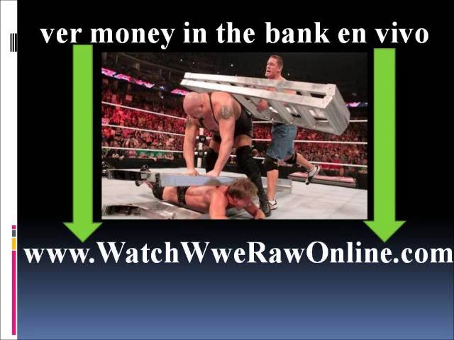 wwe.com money in the bank 2013 en vivo Videos De Viajes