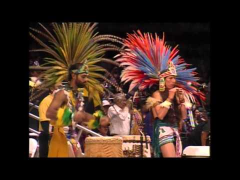 2011 Gathering of Nations - Aztec Dancing