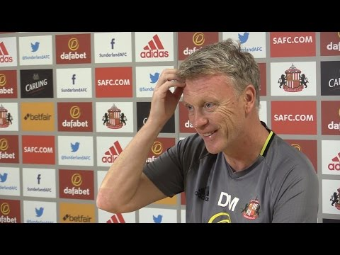 David Moyes Full Pre-Match Press Conference - Southampton v Sunderland