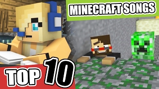 ♪ Top 10 Minecraft Songs and Animations of February 2017 ♪ NEW Best Minecraft Song Compilations ♪