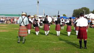 Police Service of Northern Ireland Pipe Band,  Capital District Highland Games, 2011.