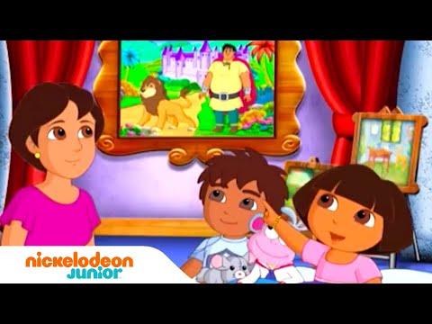 Dora l'Exploratrice | L'histoire du tableau | NICKELODEON JUNIOR