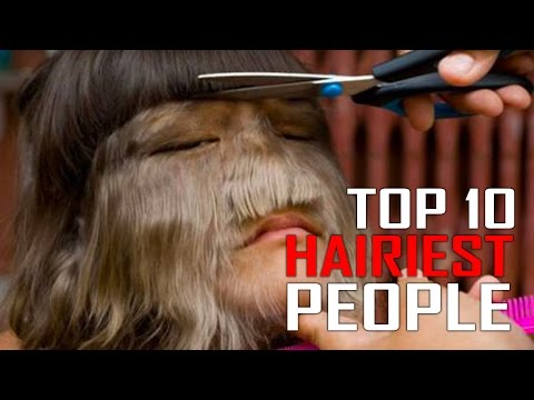 Top 10 Hairiest People in the World