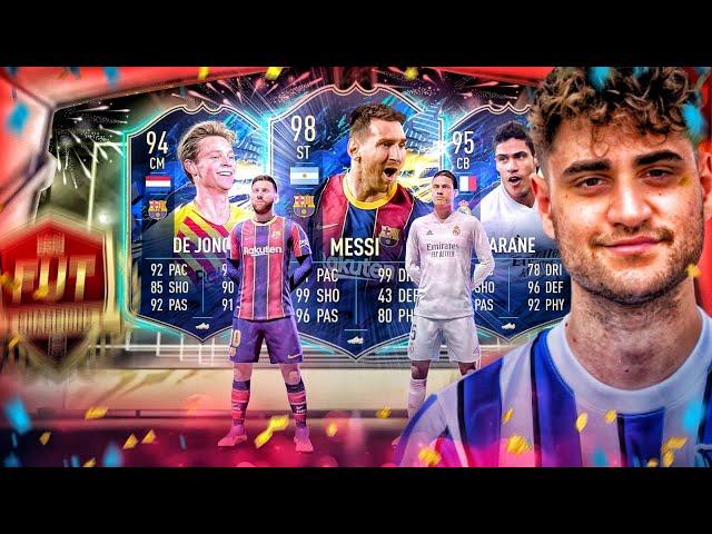 FIFA 21: 20x LALIGA TOTS TOP 200 PACKS 🔥 REWARDS STREAM