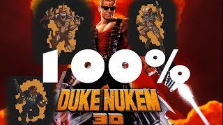 Полное прохождение игры Duke Nukem 3D, секреты + пасхалки 100% эпизод первый.