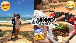 PRAIA DO GUNGA, PILOTANDO QUADRICICLO, SANDUBA DO CARECA ♥ - Bruna Paula thumbnail