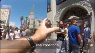 Preaching sermons in Hollywood – the Lords prophetic end times warnings - July 2016 (one of some)