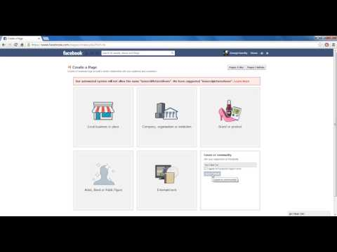 How To Make A Facebook Page For Your YouTube Channel