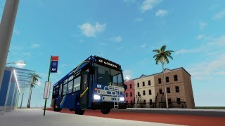 Roblox: Driving a 2010 Orion VII NG HEV? / Diesel? #1291 on route n35 to Liberty Ave West Stn
