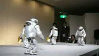Dancing Sony Robots thumbnail