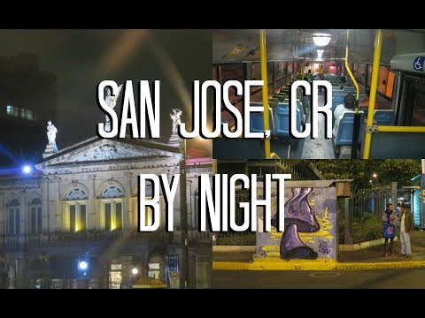 San Jose, Costa Rica | By Night
