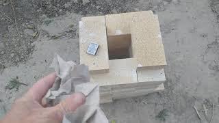 Печь на реактивной тяге из кирпичей как построить печь ракету на кочевке