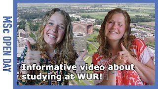 Everything you want to know about studying at WUR! | WURtube