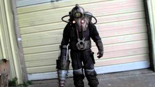 Subject Delta Costume Test Fit Part 1