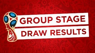 2018 FIFA World Cup Russia™ - Official Final Draw Results