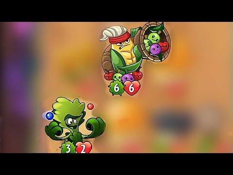 Plants vs Zombies Heroes - Molekale vs Cornucopia