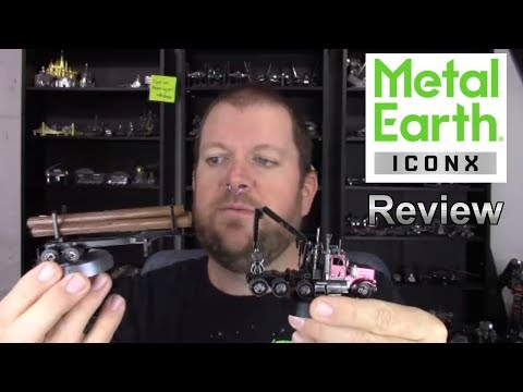 ICONX Review - Western Star 4900 Logging Truck And Trailer