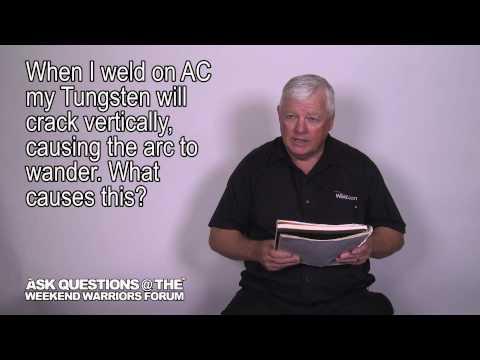 Why Does my Tungsten Crack Vertically when Welding? | Weld.com Forum