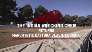 The Indian Wrecking Crew Returns - Indian Motorcycle