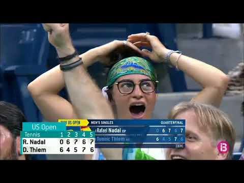 Nadal derrota Thiem en un partit que passarà a la història del US Open