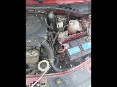 """Удаление воздуха в системе охлаждения двигателя  """"Рено Логан"""""""
