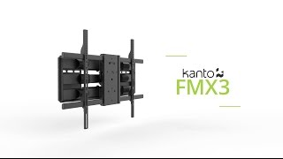 FMX3 TV Mount Overview | Kanto Mounts