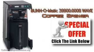Bunn Coffee Makers   BUNN O Matic WAVE APS Coffee Brewer