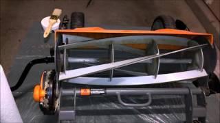 Fiskars Reel Mower Blade Maintenance Kit Sharpen Blades on Fiskars StaySharp Max Reel Mowers