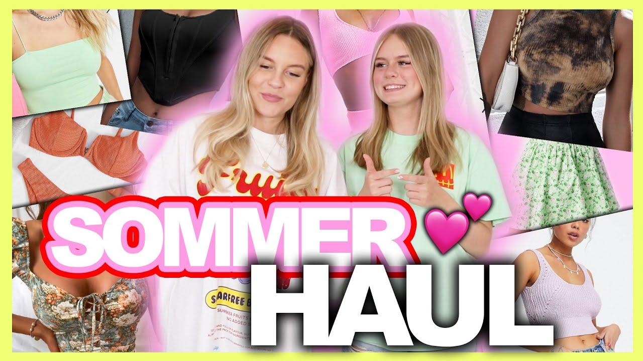 Großer SOMMER Haul mit @lenimariee🌴☀️ ( Bikinis, Kleider &&& ) | Dagi