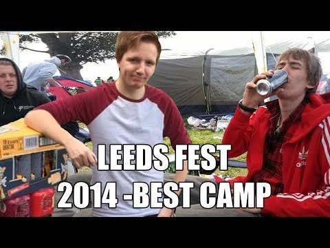 READING & LEEDS FESTIVAL 2014 - BEST CAMP