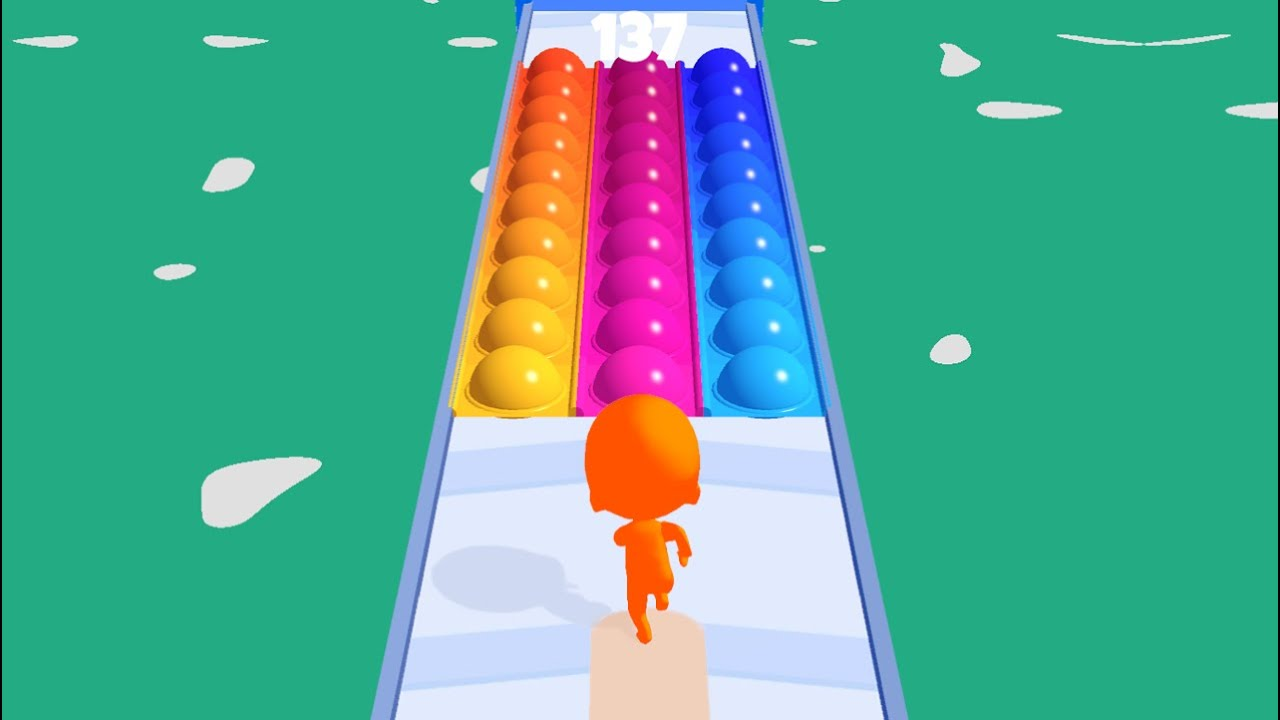 Download Pop It Run: Pop It Fidget Toys 🌈👸🌈 All Levels Gameplay Trailer Android,ios New Game