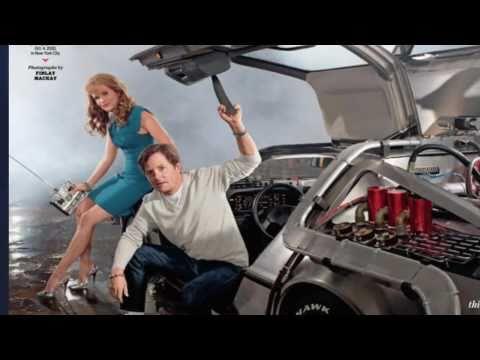 Ritorno al futuro Michael J. Fox, alias Marty McFly, e Lea Thompson, Lorraine Baines McFly 1985-2010