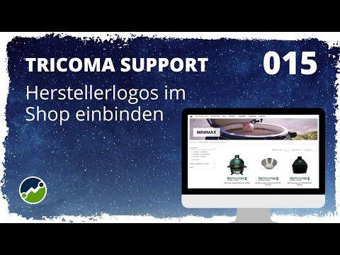 tricoma support #015: Plugin Herstellerlogos - Einrichtung und Nutzung