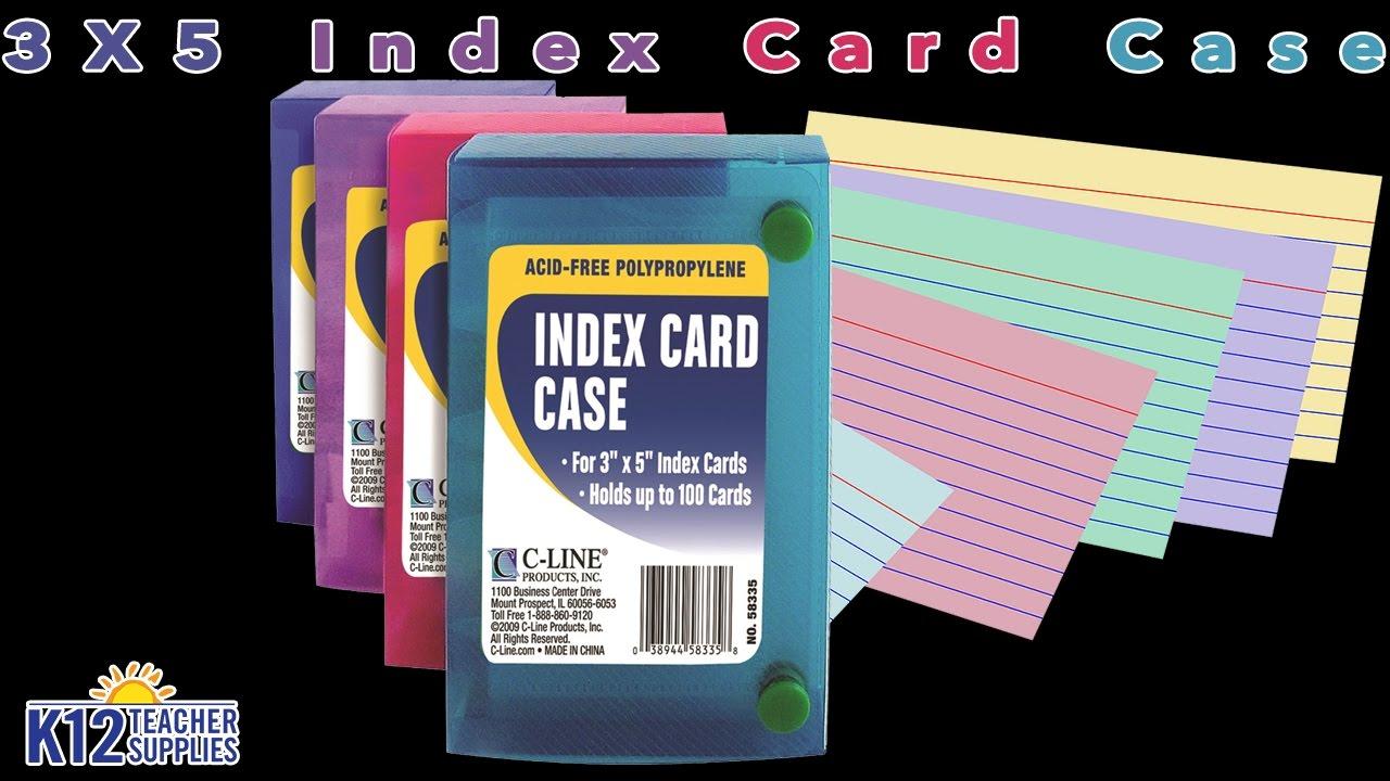 Best index card holder file box card index youtube best index card holder file box card index reheart Images