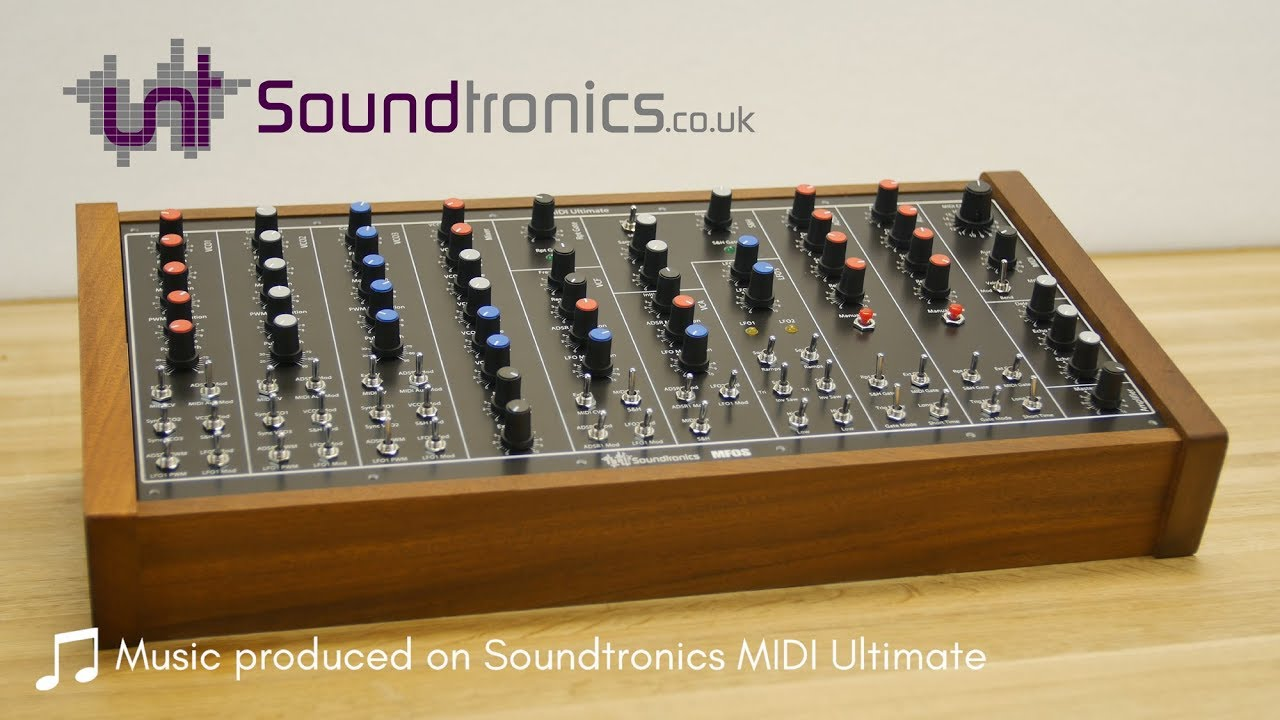 MATRIXSYNTH: Soundtronics MIDI Ultimate DIY Analogue Synth