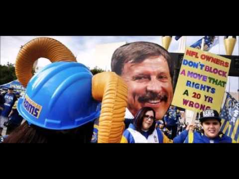 NFL: St Louis Rams win vote to move to Los Angeles