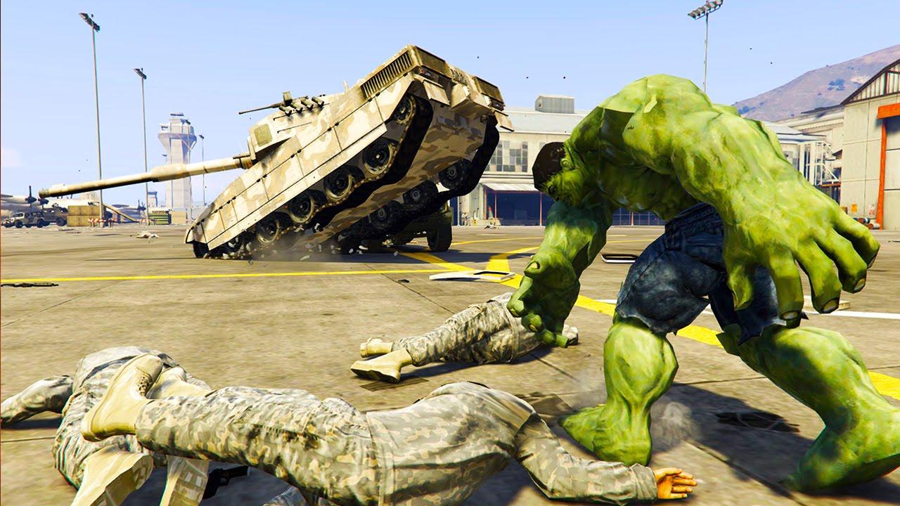 Скачать GTA 5 Hulk Mod