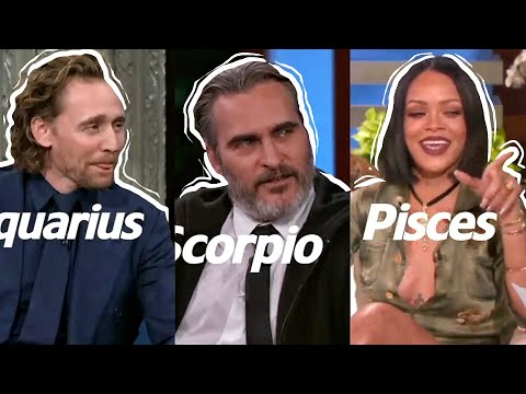 CELEBRITIES Acting As Their ZODIAC Signs Part One! | Allie Ness