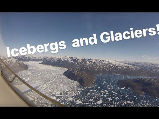 I see Icebergs! Private jet to Greenland