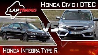 Magas fordulaton. Honda Integra Type R vs. Honda Civic i-DTEC (LapTiming ep. 44)