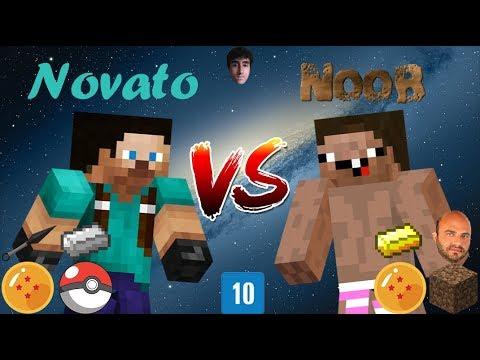 Novato VS Noob - Minecraft