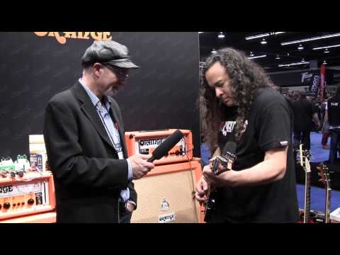 NAMM 2013: Orange OR100 amp head demo
