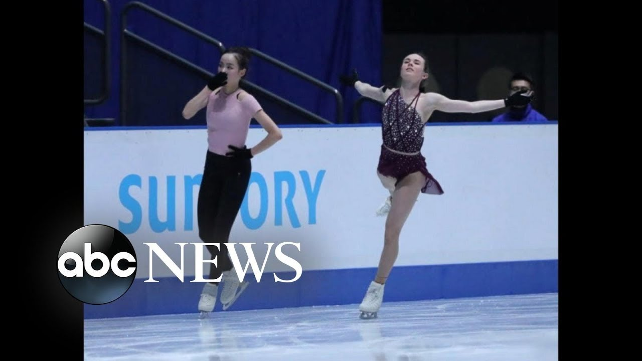 US figure skater is accused of intentionally cutting fellow athlete on the ice