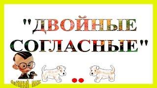 Слова с удвоенными согласными. slova s ydvoennimi soglasnimi