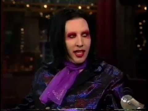 The Man Cave - Marilyn Manson- David Letterman 1998 (First appearance)