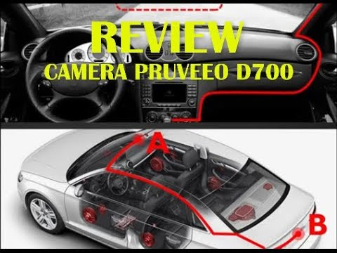 PRUVEEO D700 7 Inch Touch Screen Backup Camera