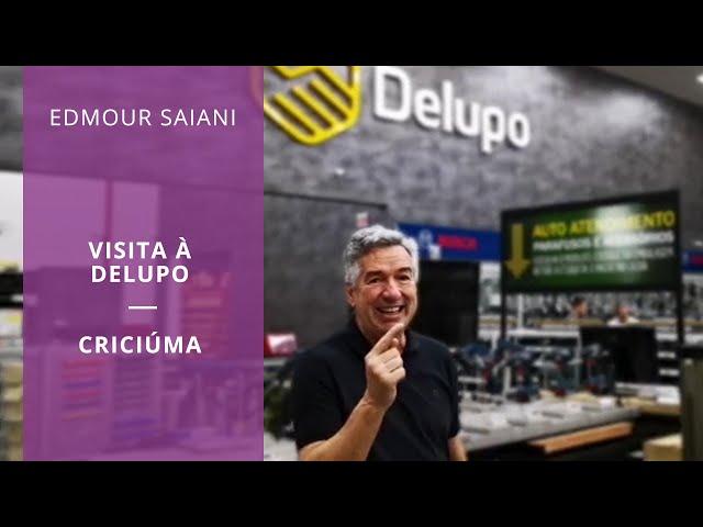 Edmour Saiani visita Delupo - Criciúma