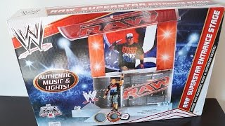 Wwe Raw Superstar Entrance Playset Unboxing, Construction & Review!!