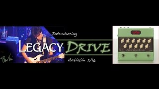 Steve Vai - Introducing The Carvin Legacy Drive Pedal