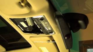 BMW 3 Series Overhead Dome Light, Sunroof Switch, And Dome Light Bulb Replacement DIY